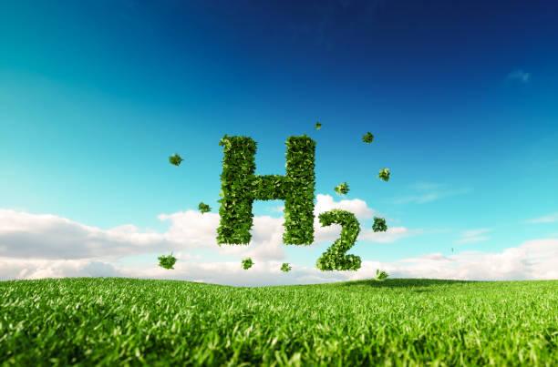 Eco friendly clean hydrogen energy concept. Gavan Knox from Hydrogen Fuel Systens.